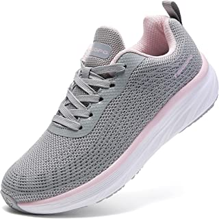 Walking Shoes for Women Lace Up Lightweight Tennis Shoes...