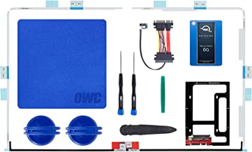 OWC SSD Upgrade Bundle for 2012-2015 iMacs, 500GB 6G SSD, Drive Converter Bracket, in-line Digital Thermal Sensor Cable, Installation Tools (OWCK27IM12HE500)