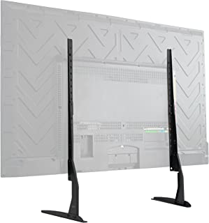 VIVO Universal Tabletop TV Stand for 22 to 65 inch LCD Flat Screens | VESA Mount with..