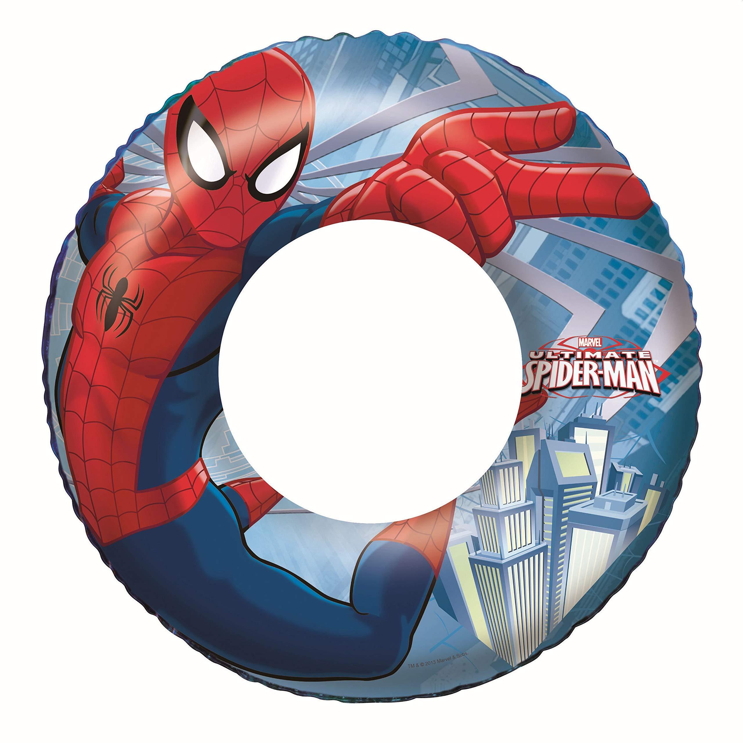 Bestway 98003 - Flotador Hinchable Infantil Spiderman 56 cm: Amazon.es: Juguetes y juegos
