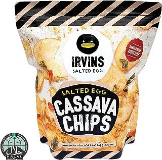 IRVINS Salted Egg Cassava Chips, 230g