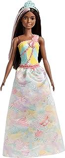 Barbie Dreamtopia - Muñeca Princesa castaña con conjunto d