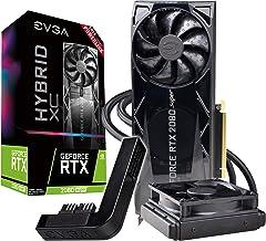 EVGA GeForce RTX 2080 Super Xc Hybrid Gaming, 8GB GDDR6, RGB LED Logo, Metal Backplate + PowerLink 08G-P4-3188-Kp
