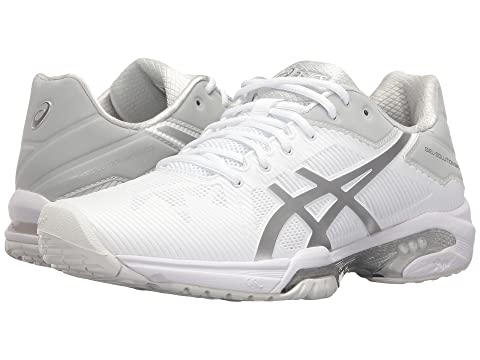 White ASICS Hot Solution Gel Pink SilverIndigo 3 Black Silver Blue Speed BlueWhite Porcelain Hw4aMrH1q