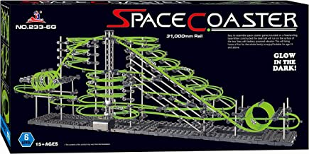 Spacecoaster Spacerail Level 6 31000mm Glow in The Dark Marble Run
