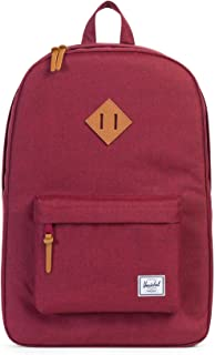 Herschel Heritage, Winetasting Crosshatch/Tan Leather Backpack