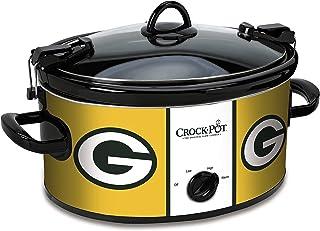 d8684b82f30 Crock-Pot Green Bay Packers NFL 6-Quart Cook   Carry Slow Cooker