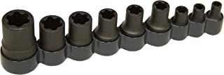 Lisle 83100 External Torx Plus Socket Set, 9pc