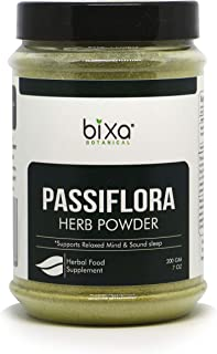 Pure & Natural Passion Flower Powder – 200g / 7 Oz (Passiflora foetida) | Supports to Reduce Stress & Strain, Reduce high Blood Pressure, Herbal Supplement to Reduce gastric Inflammation | Prime Deal