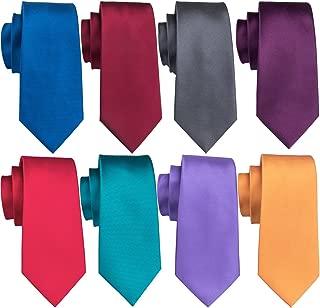 Men's Tie Set Silk Wedding Neckties Woven Silk Formal Business