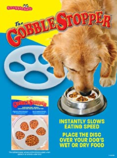SnuggleSafe Slow Feeder GobbleStopper, 18 cm disc