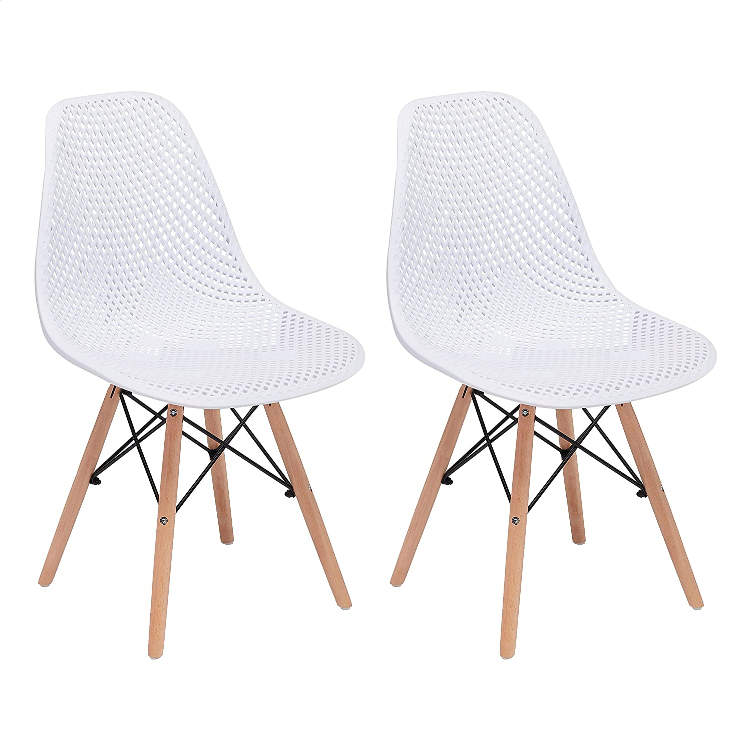 CangLong Dining Chairs Max 66% OFF Set of 2 White OFFicial site