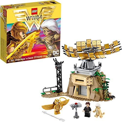lowest LEGO DC Wonder Woman vs Cheetah 76157 with Wonder Woman (Diana Prince), outlet sale The Cheetah (Barbara Minerva) and Max; Action Figure new arrival Toy for Kids Aged 8 and up (371 Pieces) outlet online sale