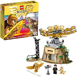 LEGO DC 76157 Wonder Woman vs Cheetah (371 piezas)