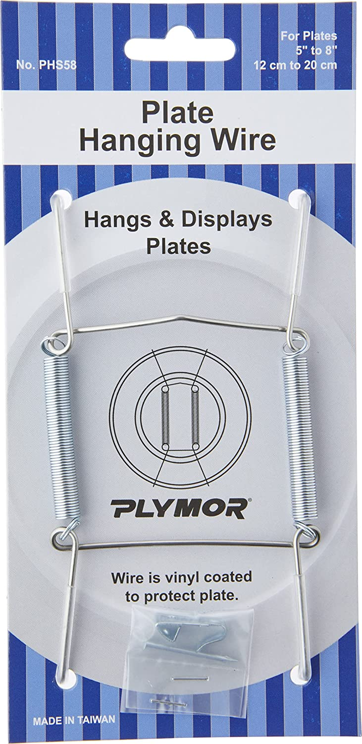 Plymor Stainless Steel Wall Mountable 4. Hanger Free shipping Plate Pack 12 Very popular