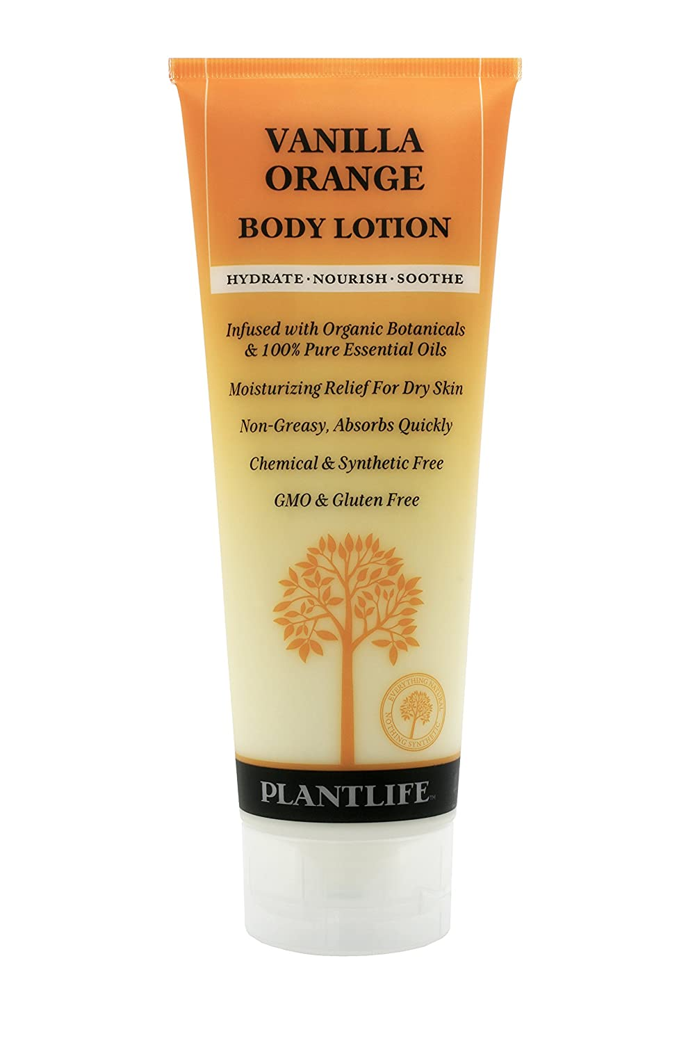 Plantlife Vanilla Orange Body Lotion sold out 8 organic Made with oz New item in