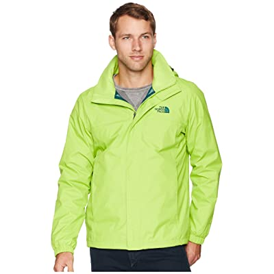 The North Face Resolve 2 Jacket (Lime Green/Botanical Garden Green) Men