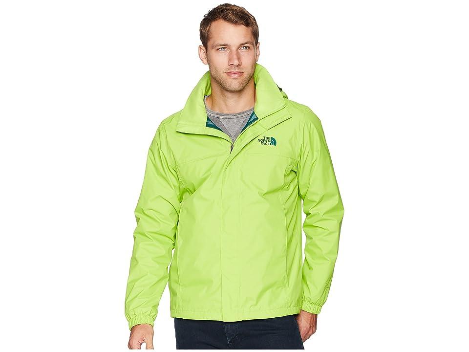 The North Face Resolve 2 Jacket (Lime Green/Botanical Garden Green) Men
