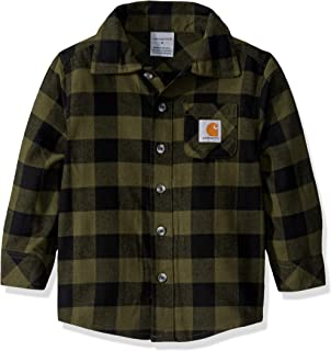 Boys' Big Plaid Flannel Shirt