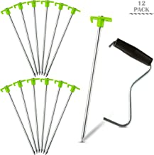 auger tent stakes