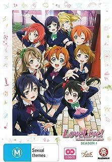 LOVE LIVE! SCHOOL IDOL PROJECT SEASON 1 (Import版) - ラブライブ! School Idol Project シーズン1 コンプリート DVD-BOX (全13話,325分) アニメ μ's [DVD] [Import] [PAL, 再生環境をご確認ください]