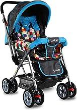 LuvLap Sunshine Stroller/Pram, Easy Fold, for Newborn Baby/Kids, 0-3 Years (Teal)