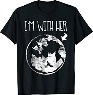 Cool Special Bold Environmental I'm With Her Earth T Shirt