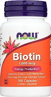 Now Foods Biotin 1000 MCG - 100 Capsules