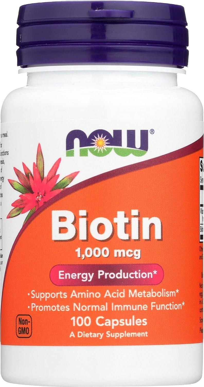 Phoenix Mall NOW Foods Biotin Sale SALE% OFF 1000 MCG Capsules 100 -