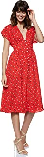Tommy Jeans Women's Tjw Waist Detail Midi Dress Dress