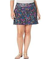 Plus Size Free Flow Skirt