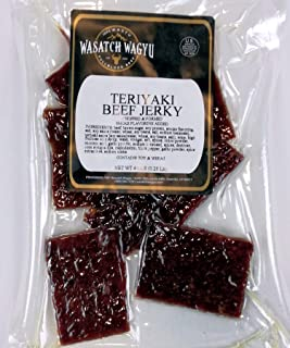 Real Wagyu Soft Chopped Sirloin Beef Jerky (Teriyaki)