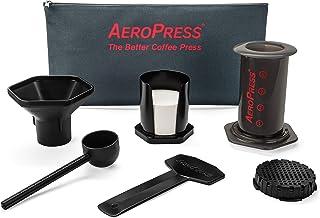 Aero Press Kawiarka, tworzywo sztuczne, czarny, pomieści 1 do 4 filiżanek lub espresso