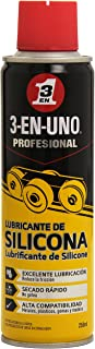 Lubricante de silicona - 3 EN UNO Profesional - Spray 250ml