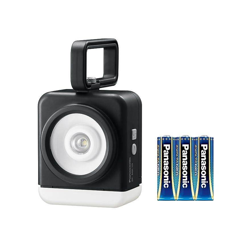 のホスト適度によく話されるパナソニック 強力マルチライト 角型ランプ 乾電池エボルタNEO付き BF-MK10K-K