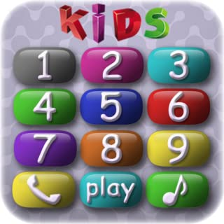 Baby Phone for preschool children - entertaining and educational game for kindergarteners in which preschoolers play and learn numbers, get to know domestic animals and their voices and sounds as well as train fine motor skills and develop memory