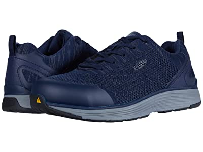 Keen Utility Sparta Aluminum Toe (Midnight Navy/Steel Grey) Men