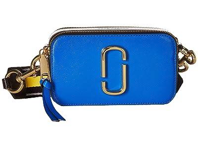 Marc Jacobs Snapshot (Dazzling Blue Multi) Handbags