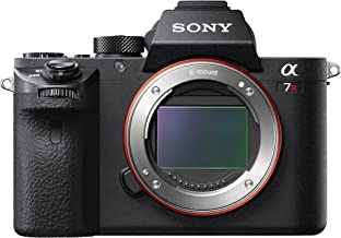 Sony a7R II Full-Frame Mirrorless Interchangeable Lens Camera, Body Only (Black) (ILCE7RM2/B)
