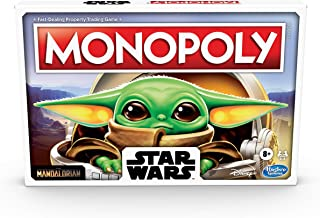 Monopoly: Star Wars The Child Edition Board Game for Families and Kids Ages 8 and Up, Featuring The Child, Who Fans Call B...