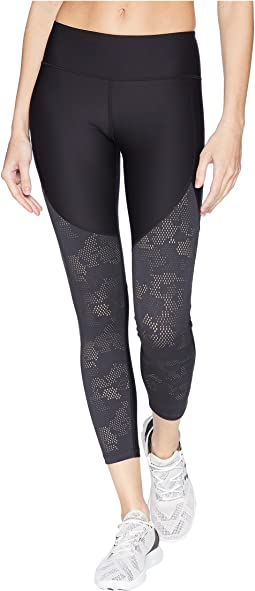 Threadborne Balance Mesh Ankle Crop Pants