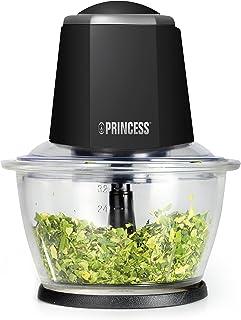 Hacheur Princess 221010 Smart Chopper – Bol en verre – Couper et hacher – Noir