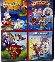 4 Tom and Jerry Movies: Meet Sherlock Holmes Original Movie / Shiver Me Whiskers Original Movie / Robin Hood and the Merry House Original Movie / Whiskers Away!