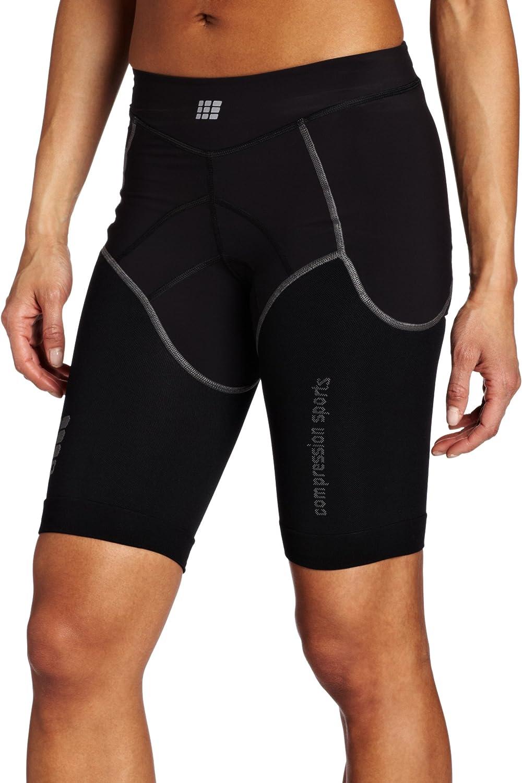 Cep Compression Sportswear Cep Women's Compression Tri Short, Black I