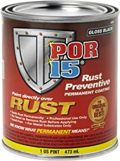 POR-15 45308 Silver Rust Preventive Coating - 1 pint