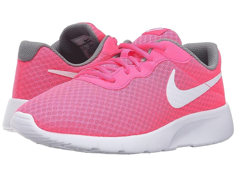 Nike Kids Tanjun (Big Kid) (Hyper Pink/Cool Grey/White) Girls Shoes