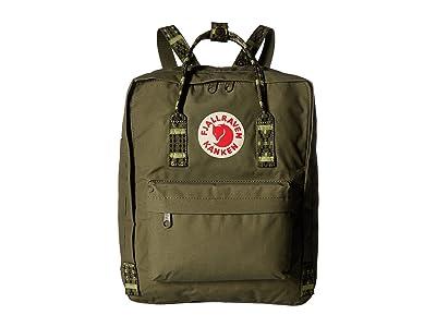 Fjallraven Kanken (Green/Folk Pattern) Backpack Bags