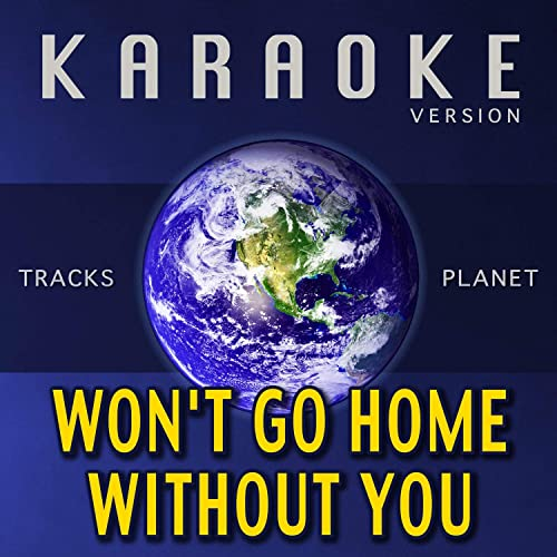 Won't Go Home Without You (Karaoke Version) by Tracks Planet on