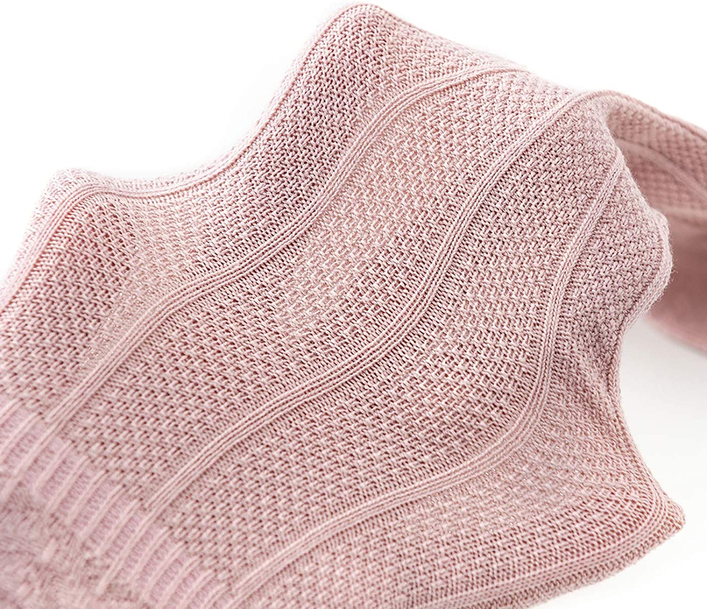 Durio Knee High Socks for Girls Toddler Newborn Baby Girl Socks Infant Cotton Stockings Tube Ruffled Unisex Tights
