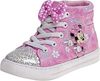 Josmo Girls Minnie Mouse High Top Sneakers (Toddler/Little Kid)